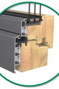 Holz / Aluminium